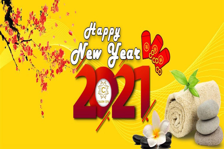hình nền charm spa năm mới